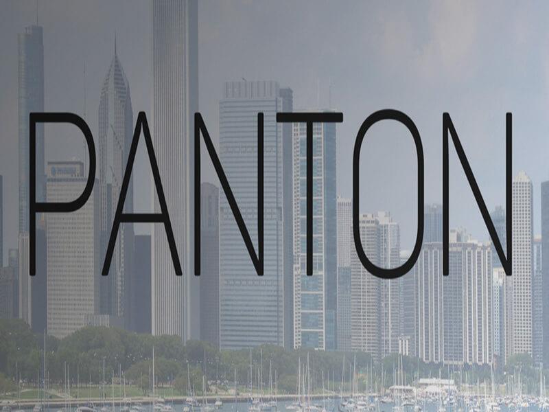 Panton Font Icon