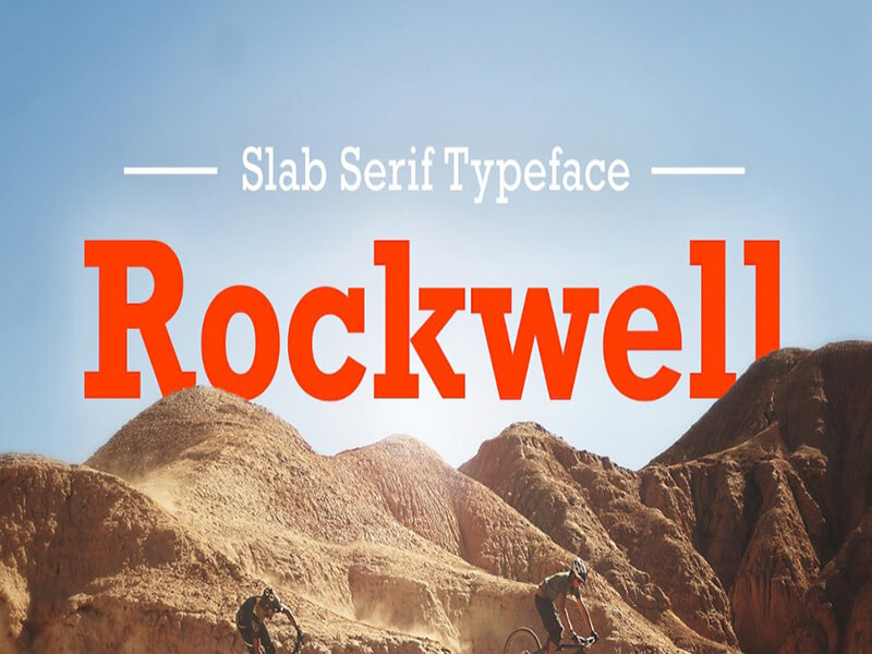 Rockwell Font Family Free Download