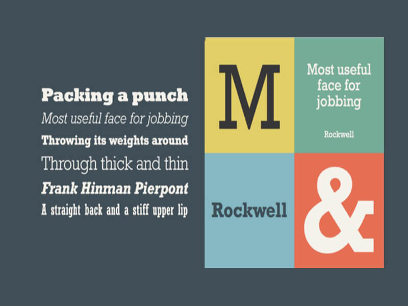 Rockwell Font Free Download