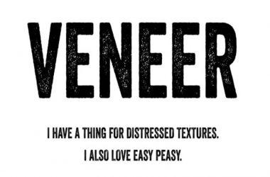 Veneer Font Family Free Download