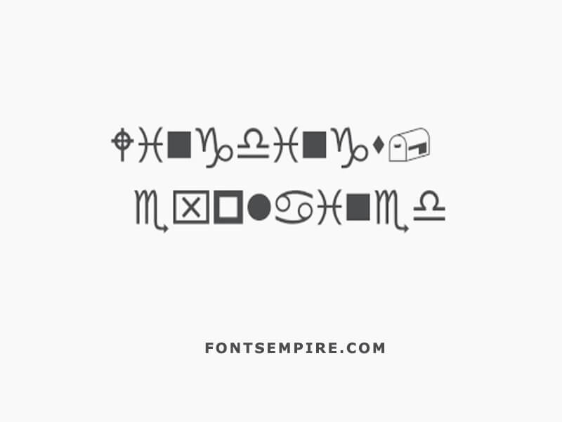 Wingdings Font Family Free Download