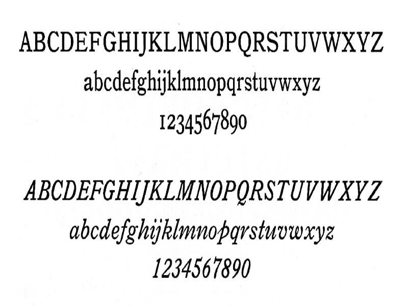 Bookman Font Free Download