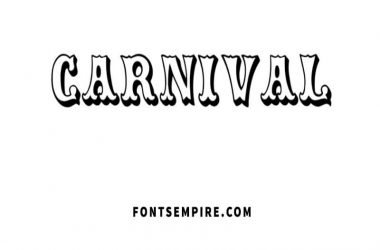 Carnival Font Family Free Download