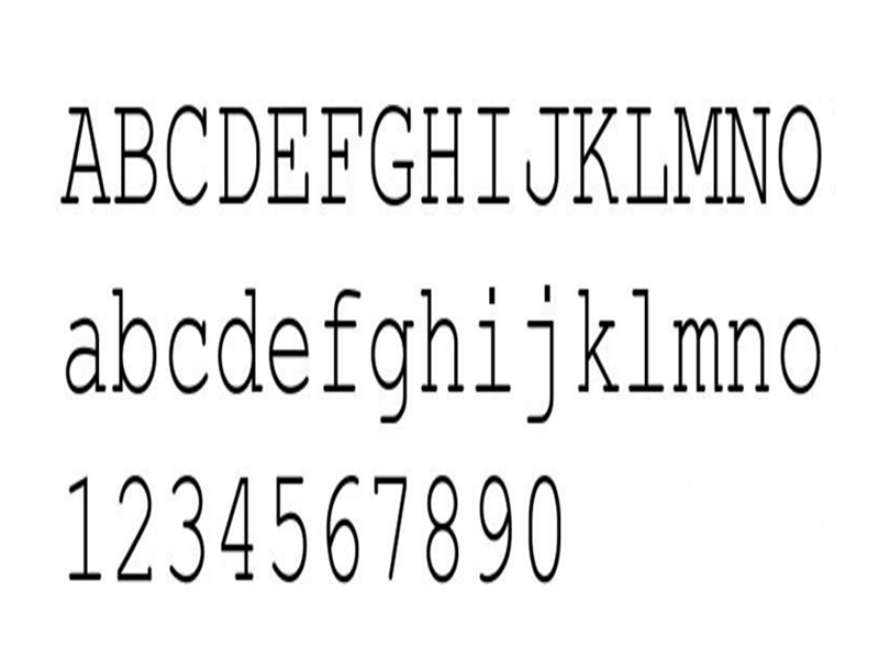 Courier New Font Family Download
