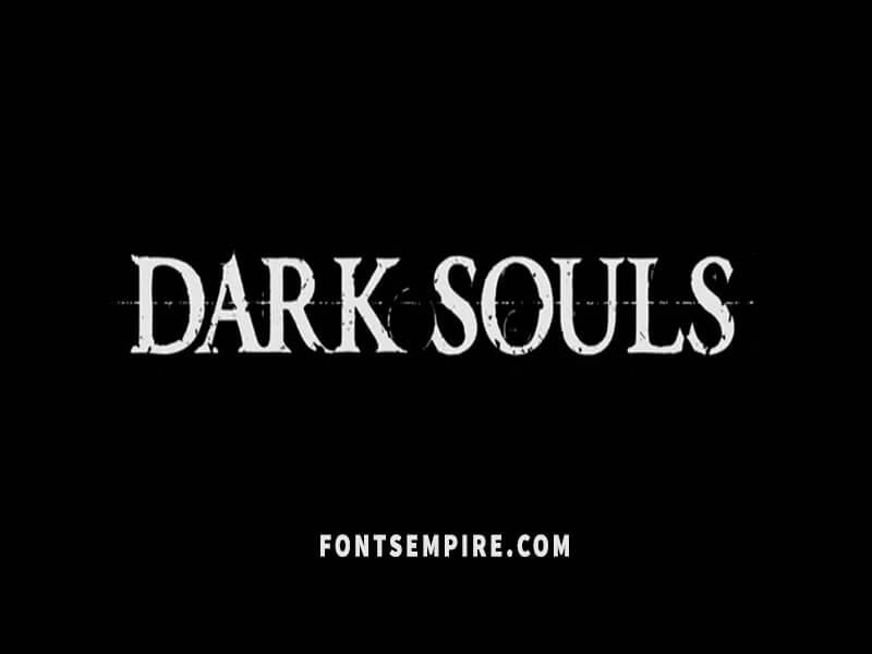 Dark Souls Font Family Free Download