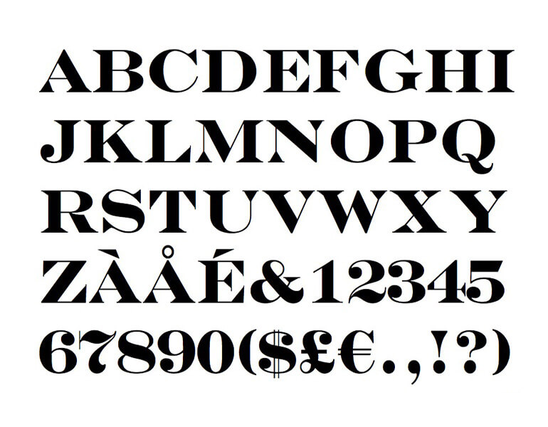 Engravers Bold Font Free Download