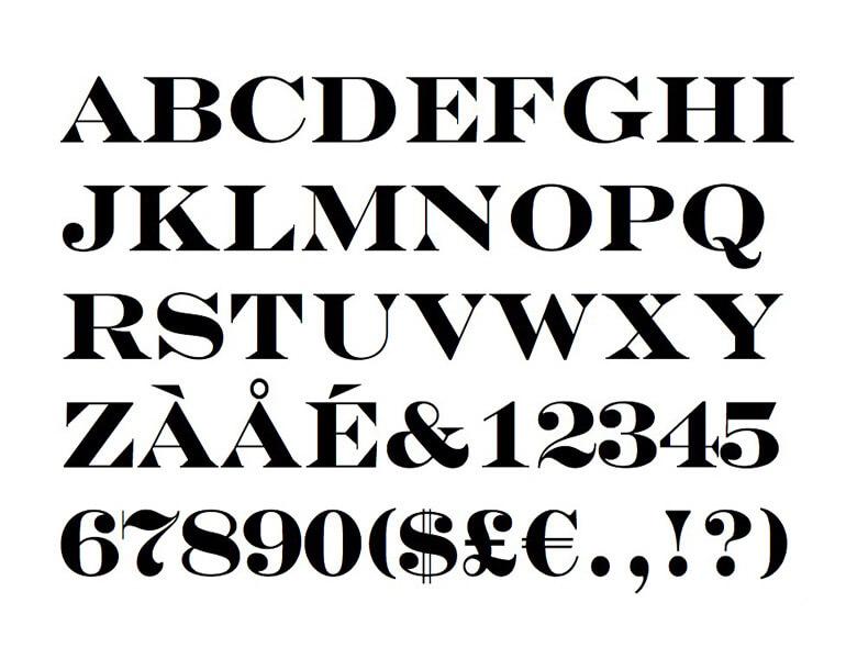 Engravers Bold Font Free Download