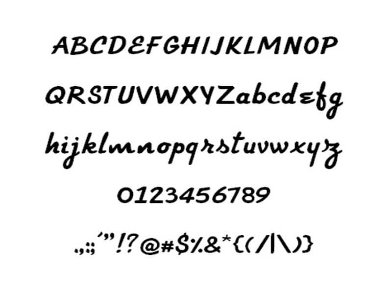 Fender Logo Font Free Download
