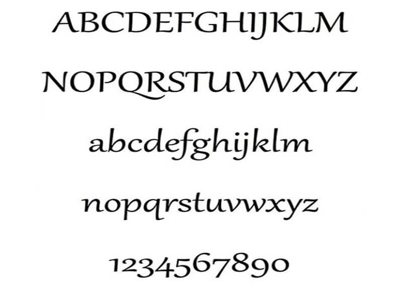 Gabriola Font Family Download