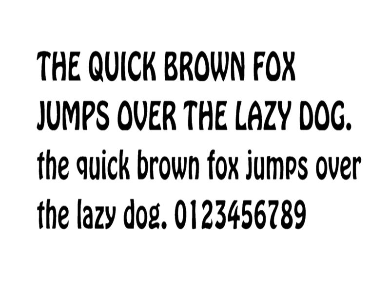 Hobo Font Family Download