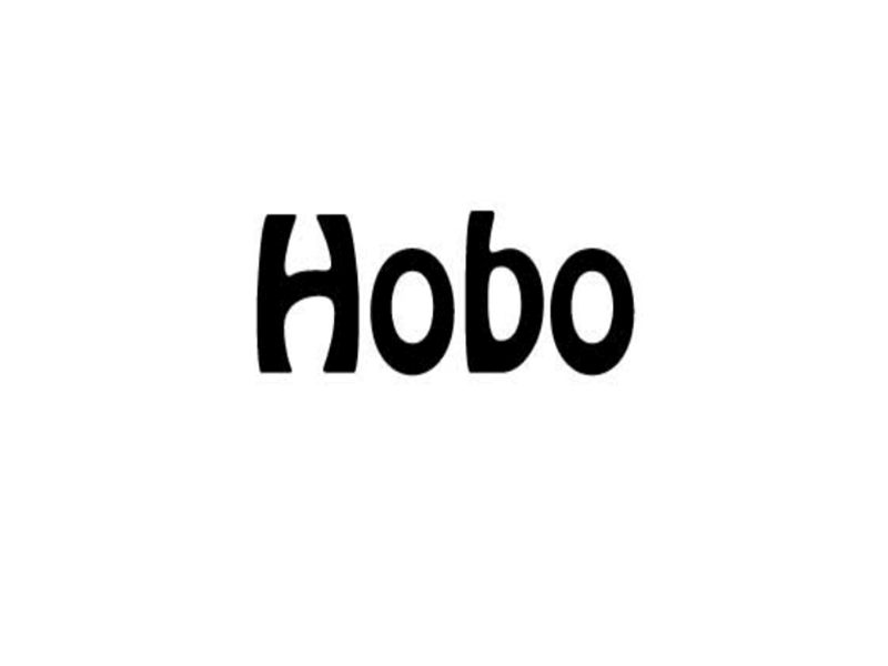 Hobo Font Family Free Download