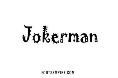 Jokerman Font Family Free Download