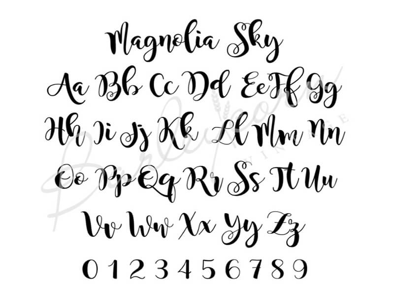 Magnolia Sky Font Family Download