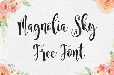 Magnolia Sky Font Family Free Download