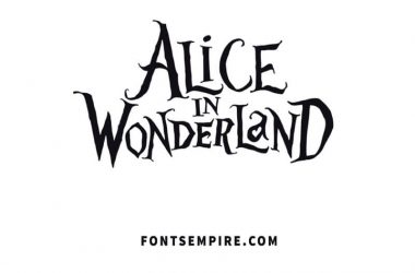 Alice In Wonderland Font Family Free Download