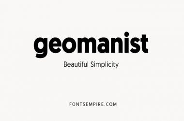 Geomanist Font Family Free Download
