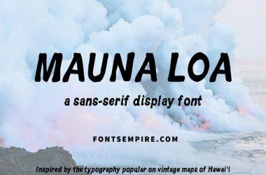 Hawaiian Font Family Free Download