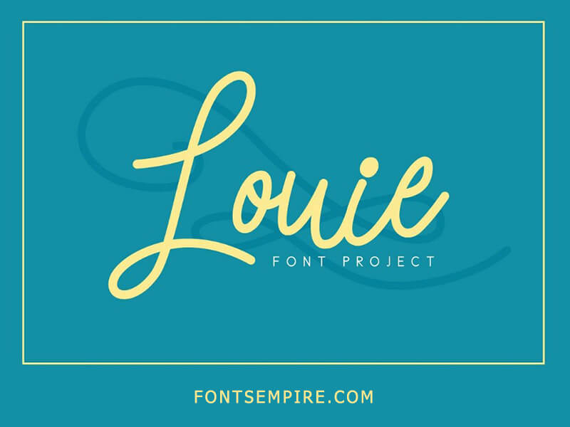 Louie Font Family Free Download