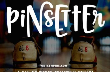 Pinsetter Font Family Free Download