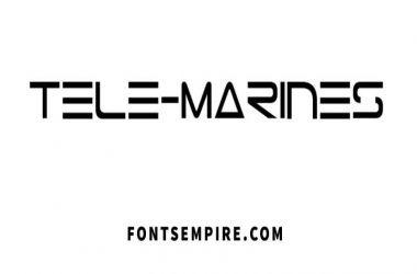 Tele Marines Font Free Download