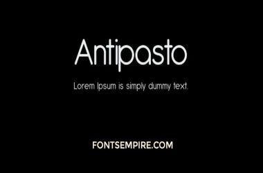 Antipasto Font Family Free Download