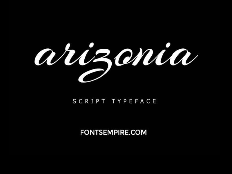 Arizonia Font Family Free Download