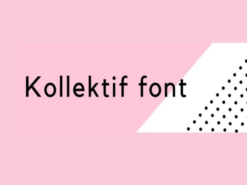 Kollektif Font Family Download