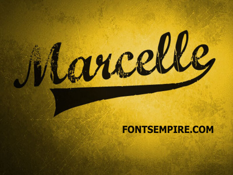 Marcelle Font Family Free Download