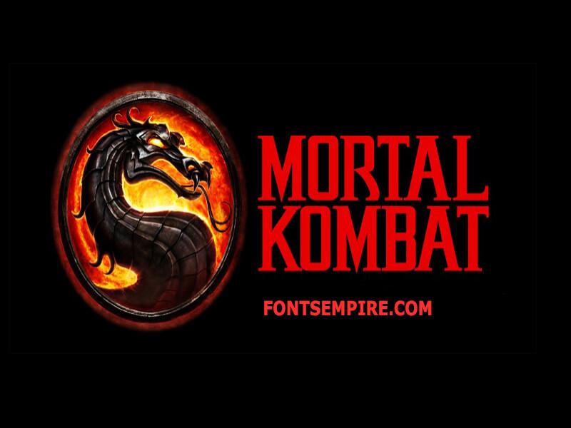 Mortal Kombat Font Family Free Download
