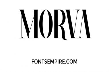 Morva Font Family Free Download