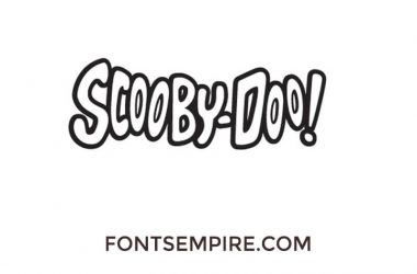 Scooby Doo Font Free Download