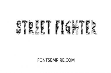 Street Fighter Font Family Free Download