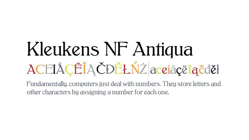 Antiqua Font Family Download