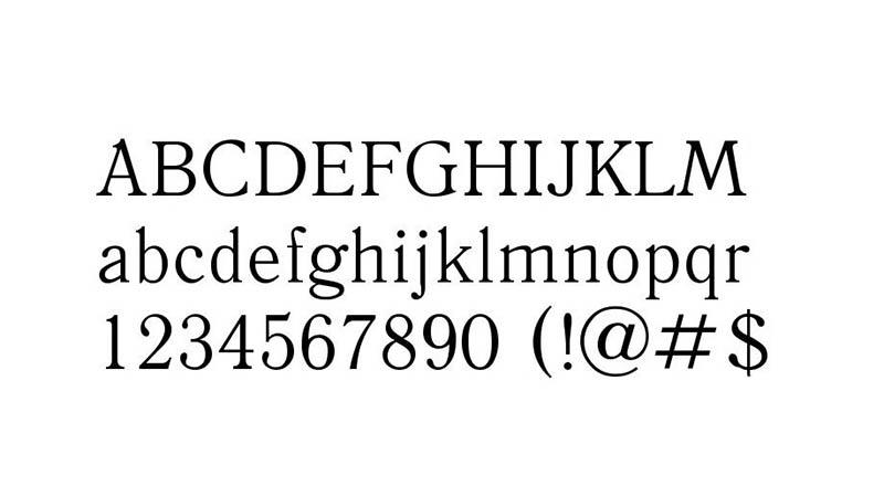 Antiqua Font Free Download