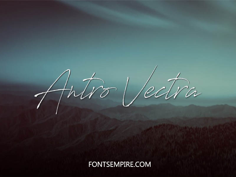 Antro Vectra Font Family Free Download