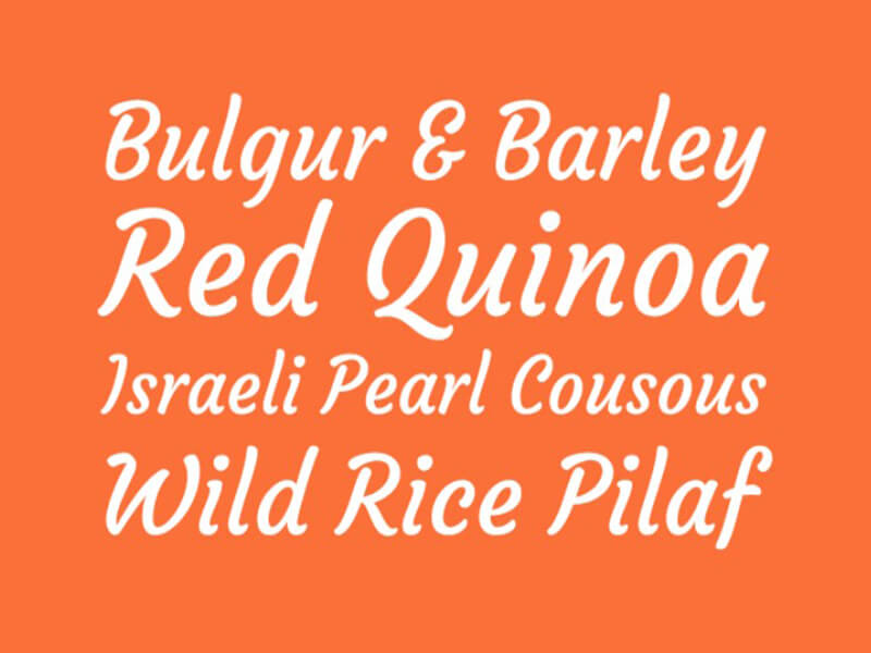 Courgette Font Family Download