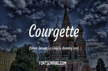 Courgette Font Family Free Download
