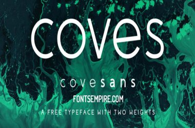 Coves Font Family Free Download