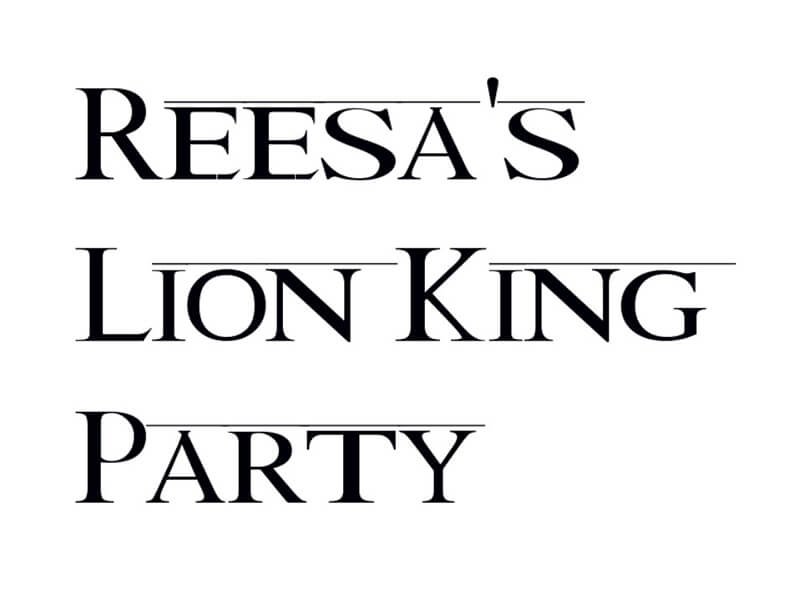 Lion King Font Family Download
