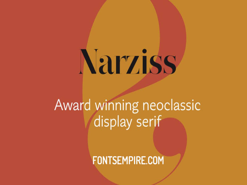 Narziss Font Family Free Download