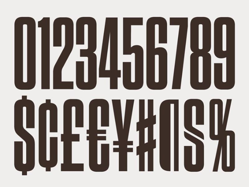 Tungsten Font Free Download