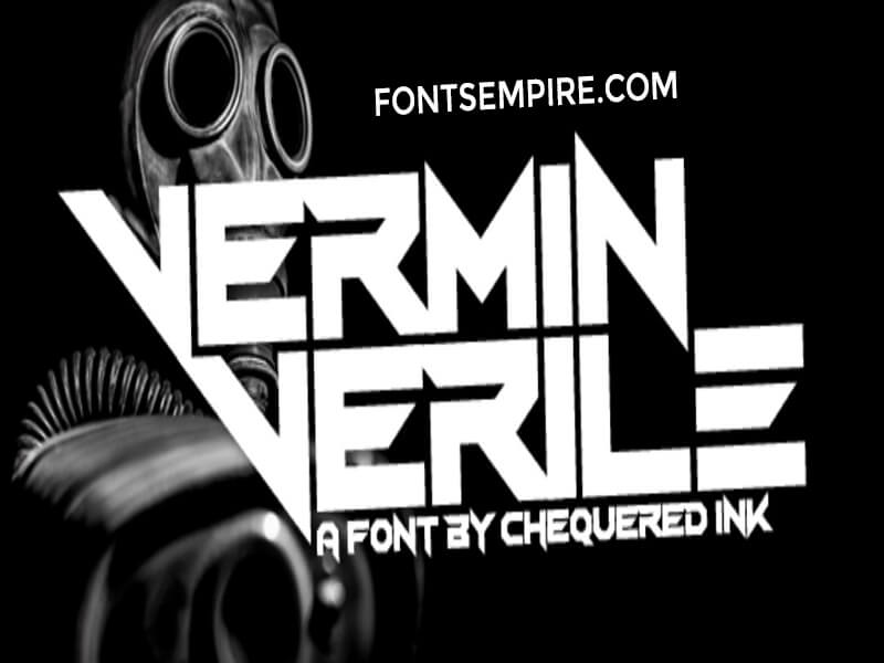 Vermin Vibes Font Family Free Download