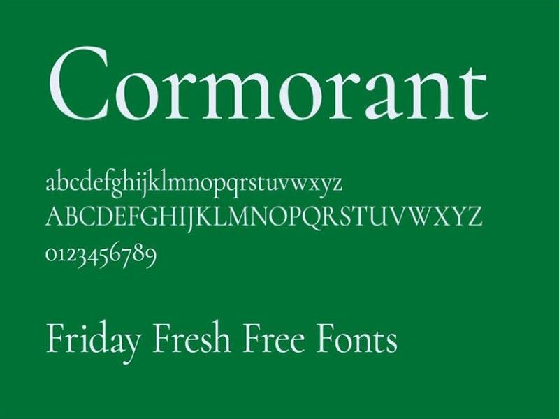 Cormorant Font Family Download