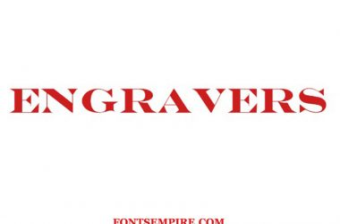 Engravers Font Family Free Download