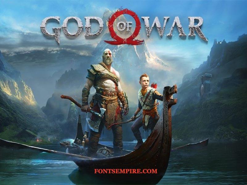 God of War Font Family Free Download