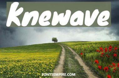 Knewave Font Family Free Download
