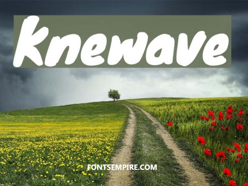 Knewave Font Family Free Download