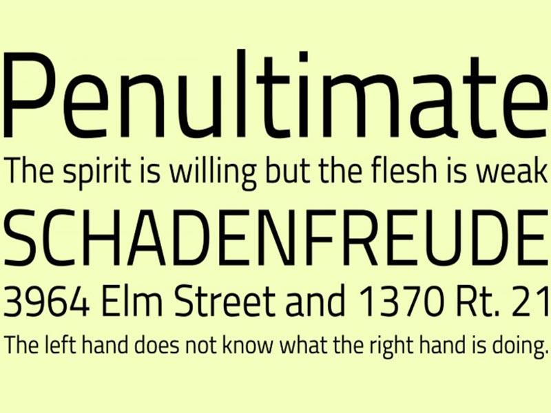 Titillium Web Font Free Download