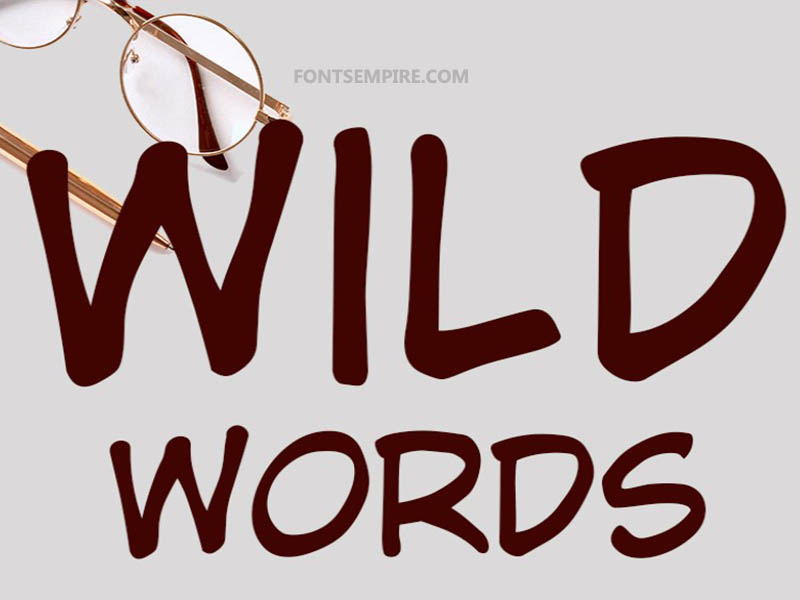 Wild Words Font Family Free Download