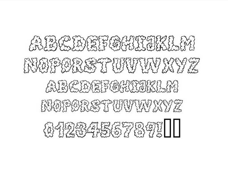 Alpha Smoke Font Free Download